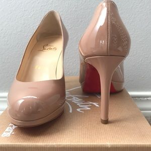 Christian Louboutin New Simple Pump 85 mm. NEW!!!
